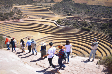 Enjoy amazing views, visit picturesque towns and learn about the local Peruvian culture in the rural area outside the city of Cusco.